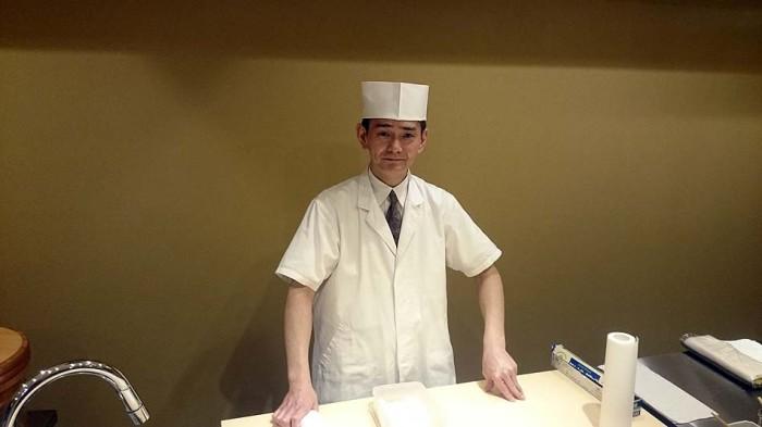 「すし処昇楽」の味を支える屈指の板前、宇田川さん