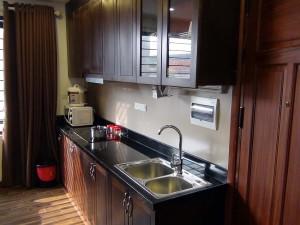 単身向けにしては充分なキッチンです(603号)