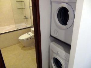 乾燥機と洗濯機はセパレートです(603号)