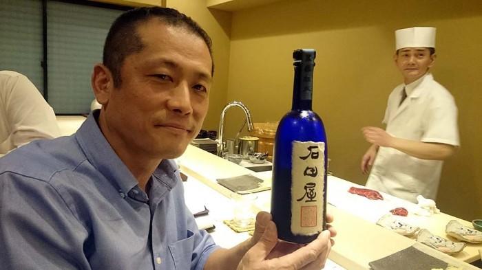 銘酒「石田屋」。こんな美味い日本酒、飲んだこと有りません