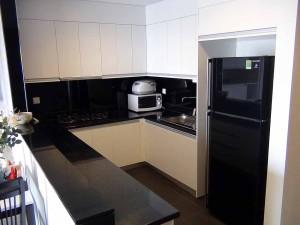 123㎡の広いタイプの2bedのキッチン