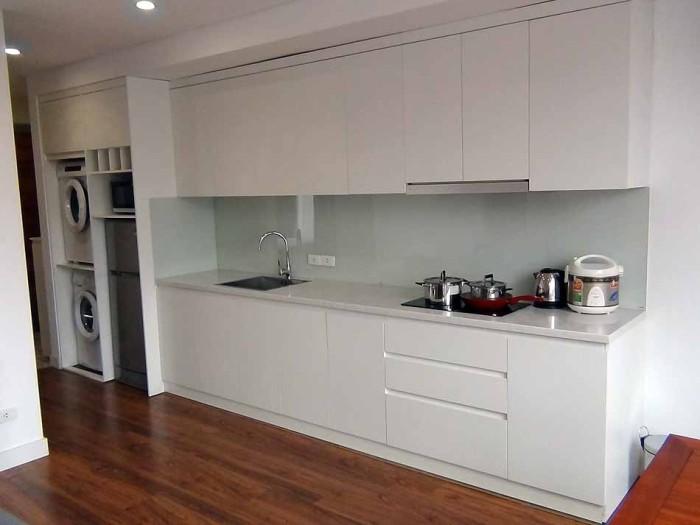 キッチンはスッキリI型が基本仕様です