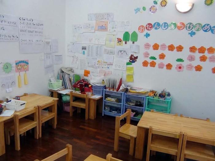 教室の風景です