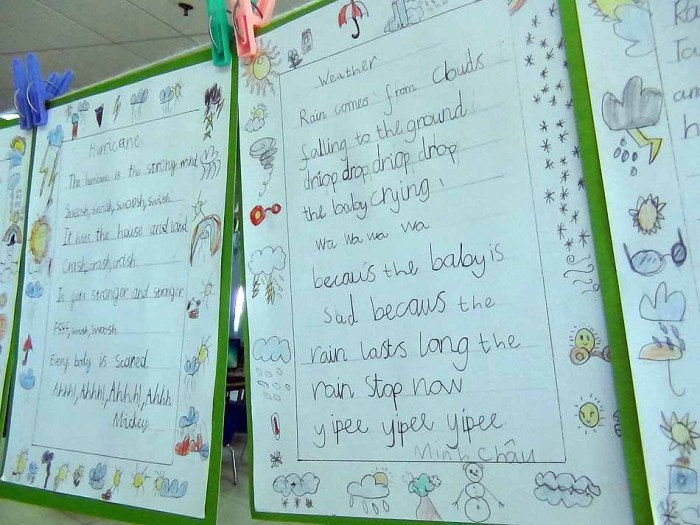 これは幼稚園児の書いた文字「丁寧にしっかり書くことを徹底させています」