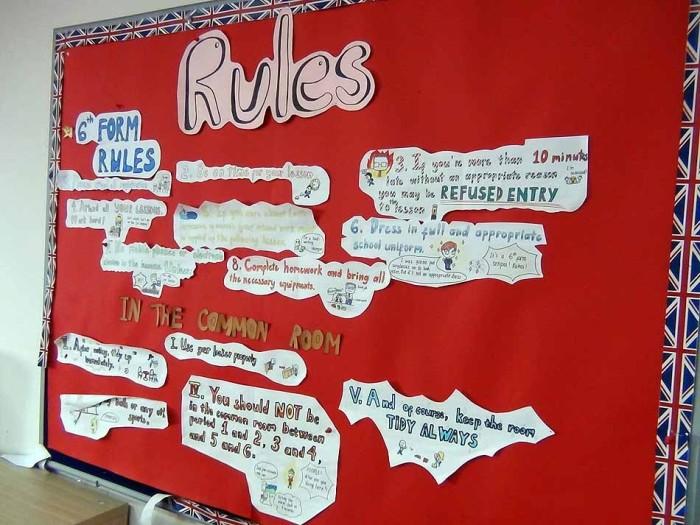 生徒の自習室には厳格なルールがあり、生徒はしっかり守りながら利用しています