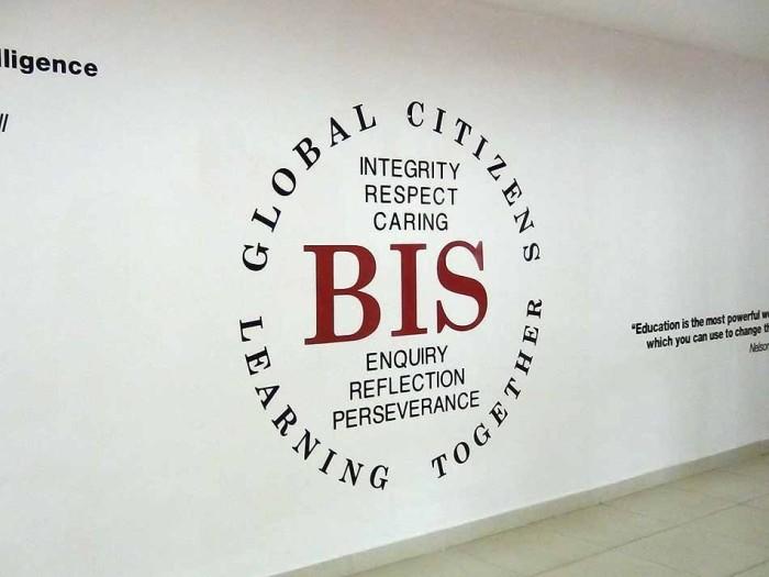 「Global Citizen」はBISの校訓です