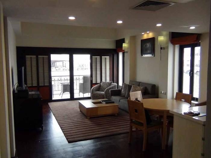 INTERCONTINENTAL HANOI WESTLAKEの2bedroomの室内