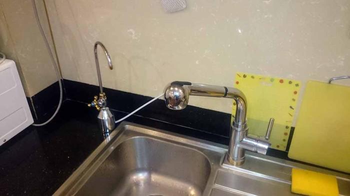 もう一つ、浄水器から生まれる綺麗な水の蛇口が追加されます