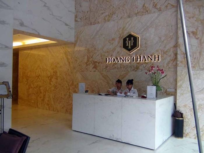 Hoang Thanh Towerの受付レセプション