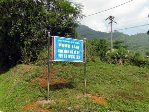 「Phuc Lam」は山間の平地にそっと建つ工場です