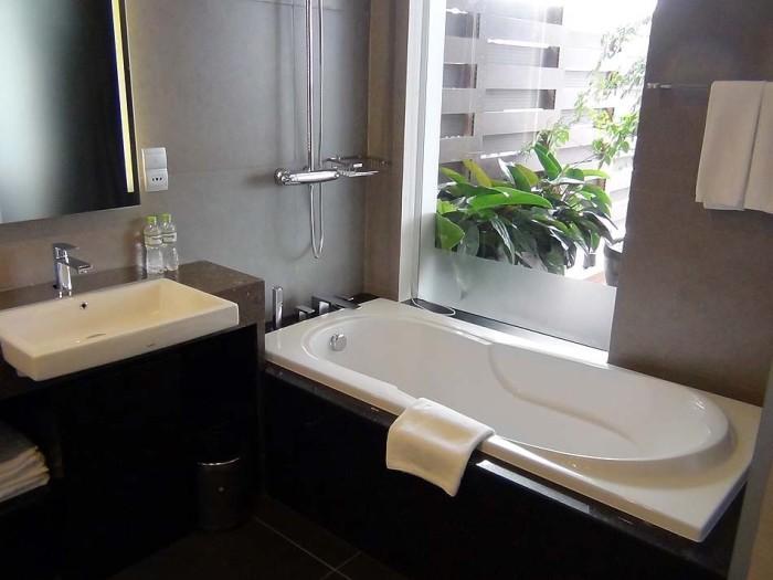 浴室の広さと綺麗さはずば抜けています(全タイプ共通)