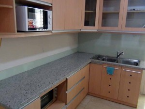 キッチンの作業スペースは広いです