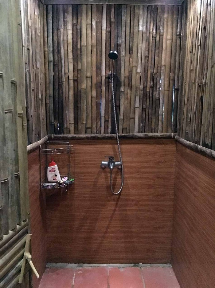 お湯がしっかりと出るシャワーも完備です