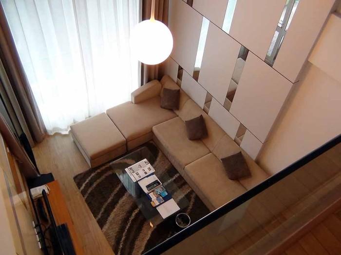 2階建てのDuplexも豊富にあるのがハノイクラブの売りの一つです