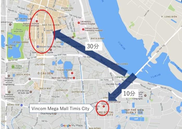 川を越えて直ぐに着くか、渋滞を我慢するか、どっちが良いですか?