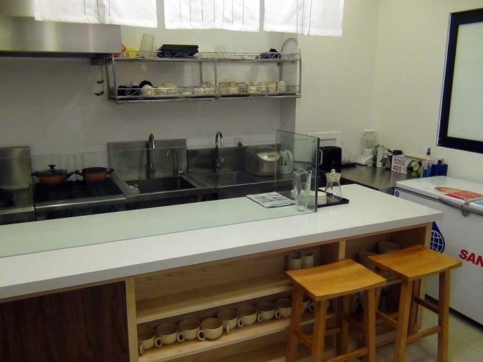 綺麗に清掃されたキッチン