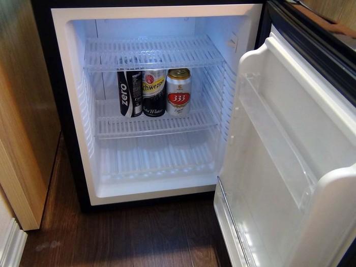 ビール、コーラ、炭酸水は毎日無料