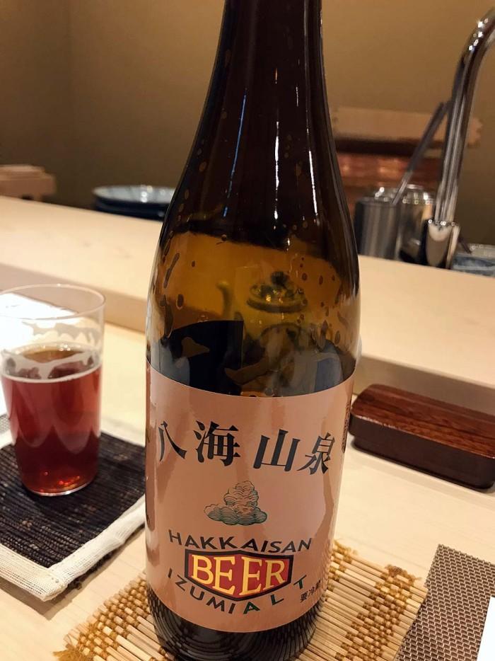 八海山泉ビール、これがまた美味い!!