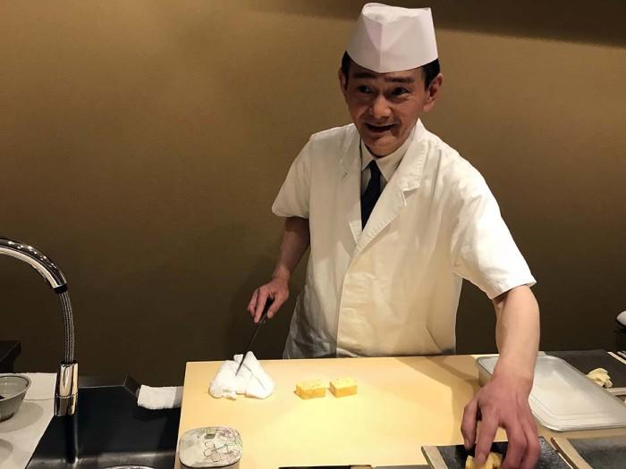 職人宇田川さんの腰の低さが光るお店です