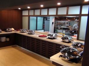 5つ星ホテルのFraser Suitesとすれば、朝食ビュッフェの質は大切です