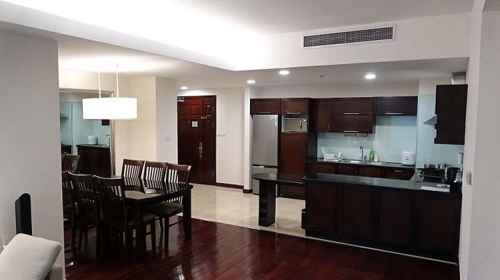 Fraser Suitesの3ベッドルームはカウンターキッチンがメインです