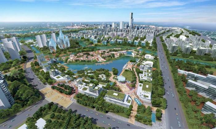 ベトナムにも最先端のスマートタウンが生まれるのか(イメージ図です)