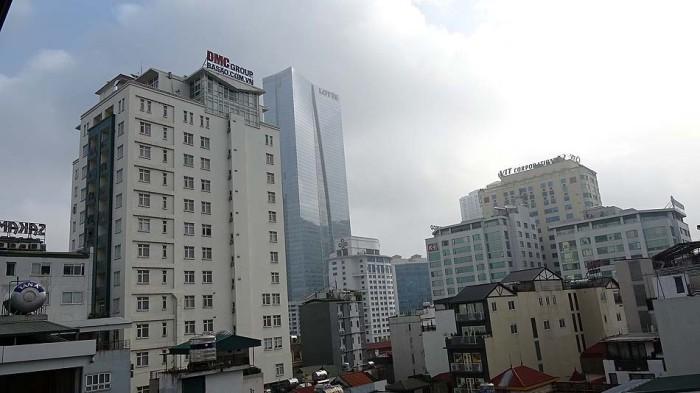 Kim Maのランドマークビル「LOTTE CENTER HANOI」