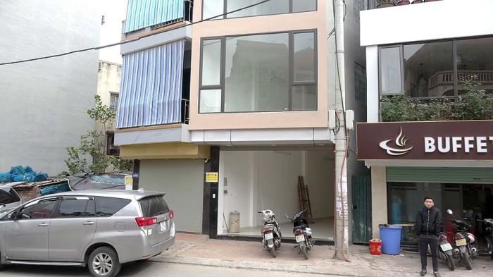 Phan Ke Binh通りに出てきた店舗物件