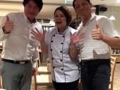 HR-LINK竹之内さんと「鴨鍋」を美味しくいただきました
