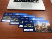 「Vinhomes Metropolis」の無料1泊宿泊券です
