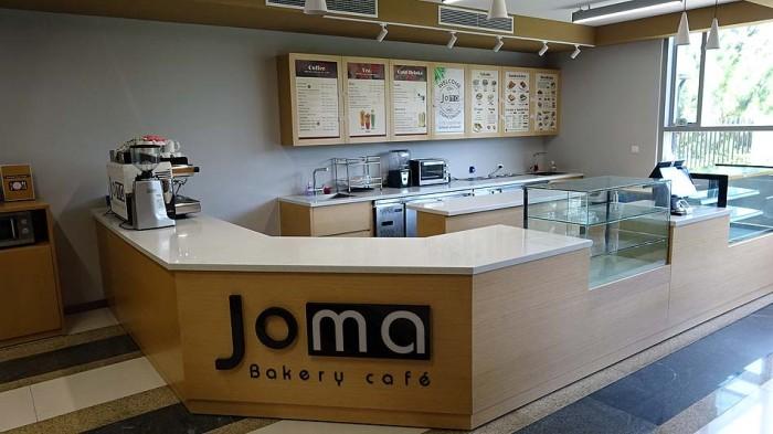 なんと1階に私が毎週末に利用している「Joma Cafe」がさりげなく入っているんです!