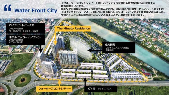 ウォーターフロントシティの構成(タカラレーベンさんのセミナー資料より)