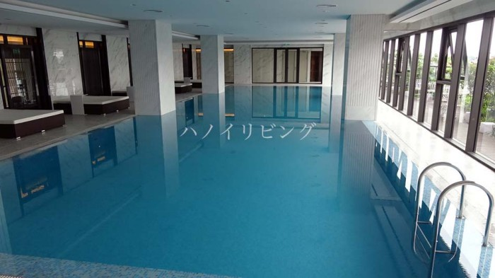 しっかり泳げる室内(インドア)プール