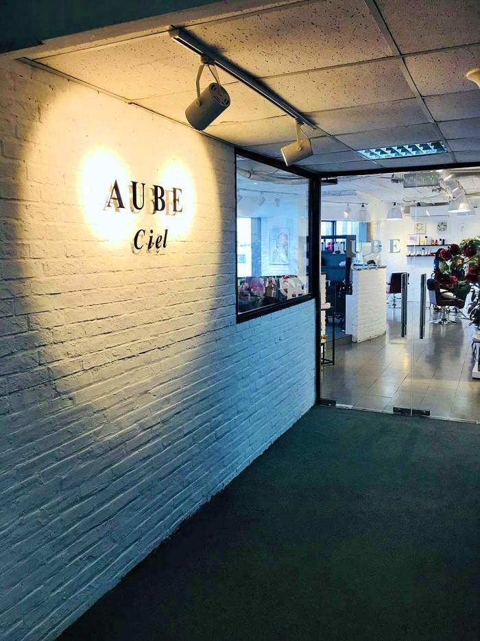 DCAさんが内装を手掛けたお店「AUBE Ciel」さん