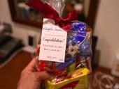 「1週間頑張ったで賞」のお菓子をホテルからプレゼント