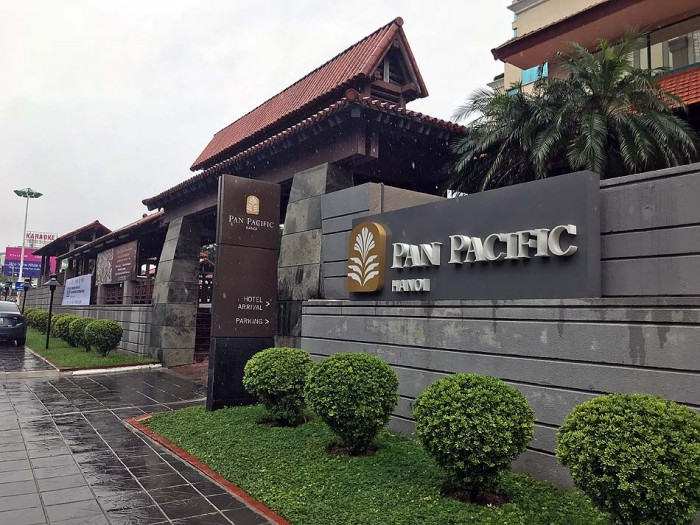 Pan Pacific Hanoiは日本人も多く住むレジデンスです